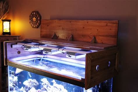 aquarium hood design diy building a aquarium canopy reef aquarium