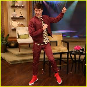 Ansel elgort sings treat you better in new cover video ansel