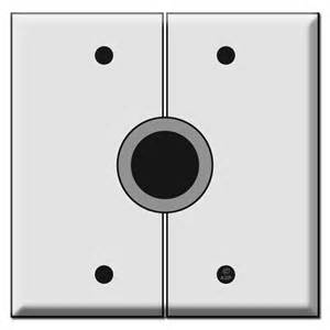 Decorative Light Switches Split 2 Gang Audio Video Cable Wall Switch Plates With 1