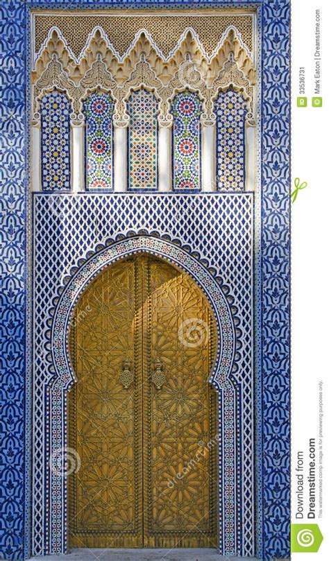 morroccan l moroccan doorway stock image image of empire fort