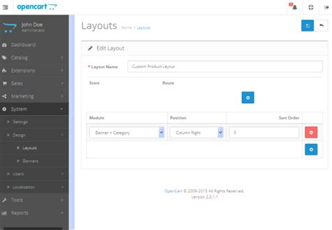 Layout Creator Opencart | understand layouts in opencart