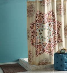Kitchen Curtains At Family Dollar Better Homes And Gardens Medallion Fabric Shower Curtain