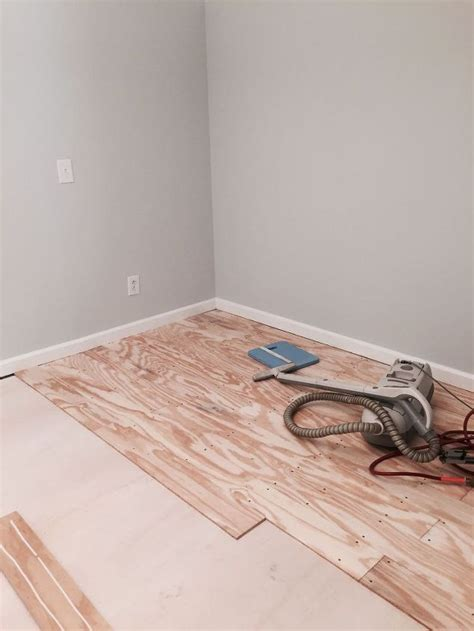 cheap bedroom flooring diy plywood plank floors hometalk