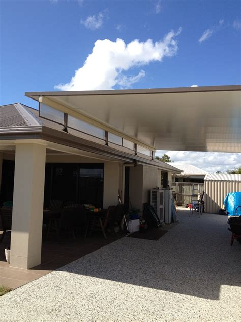 Stratco Carport stratco cooldek fly carport with twinwall side panels fly patios and carports