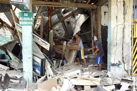 earthquake ecuador ecuador 7 8 magnitude earthquake leaves 235 dead 1500