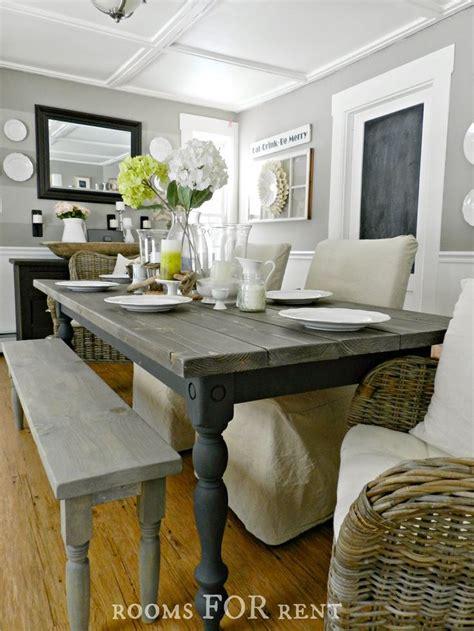 Farmhouse Dining Room Paint Ideas How To Build A Farmhouse Dining Table Tutorial On How To