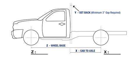 semi truck dimensions diagram get free image about