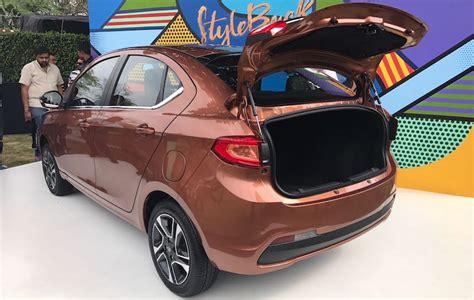 Exterior Door Colors by Tata Tigor Subcompact Sedan Specs And Features Ndtv
