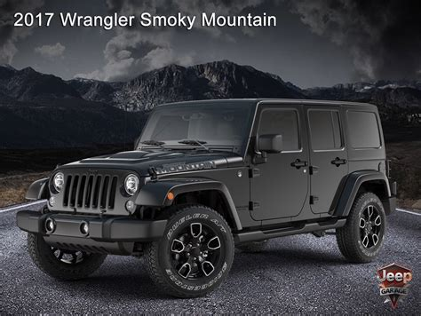 Jeep Wrangler Mountain by Smoky Mountain Edition Jeep Wrangler Forum