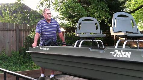 bass tracker pond boat pond boat dolly youtube