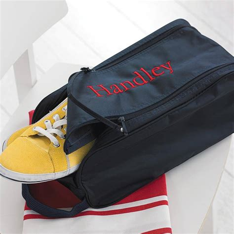 sports shoe bag personalised sports shoe bag by big stitch