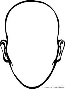 faces colouring pages