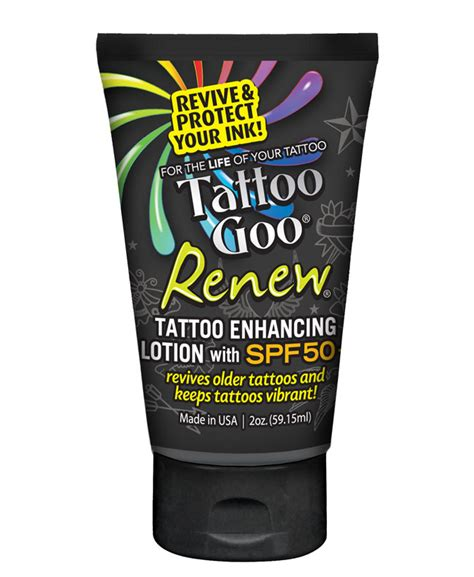 tattoo goo sunscreen review tattoo goo 174 complete tattoo aftercare kit numbcare com