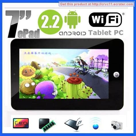 Tablet Wifi Only Ram 2gb 7 quot via 8650 android 2 2 tablet pc touchpad wifi 3g 256mb ram 2gb hdd cheapest