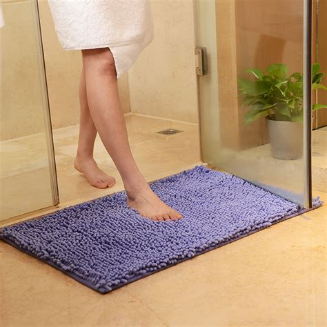 washable bathroom carpet washable soft shaggy non slip absorbent bath mat bathroom
