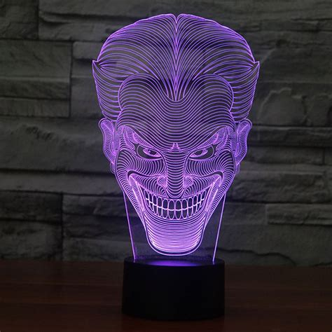 Lu Led Warna Warni smile design 3d led l