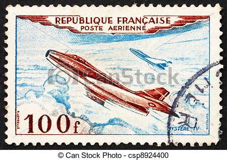 Porto Schweiz Frankreich Brief Stock Fotografie Porto Briefmarke Frankreich 1954 D 252 Se Eben Mystere Iv Csp8924400