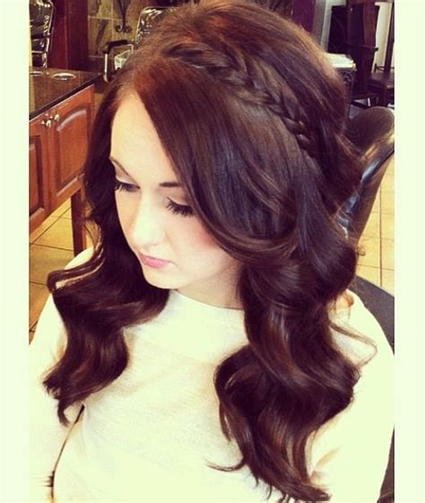 casual hairstyles for graduation 15 best 8th grade dance hairstyles images on pinterest