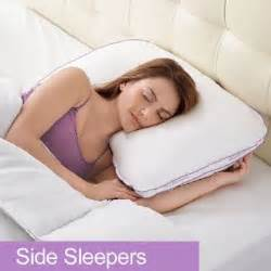 biosense 2 in 1 side sleeper pillow by brookstone pillow