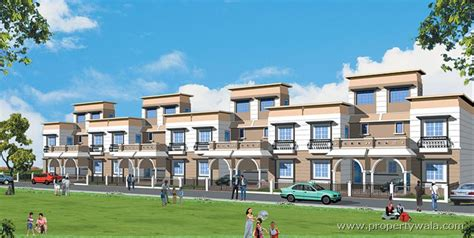 row housing omaxe city bypass road indore residential project