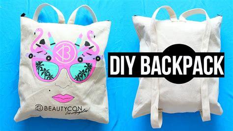Premium Stringbag Unicorn diy backpack from tote bag back to school 2015