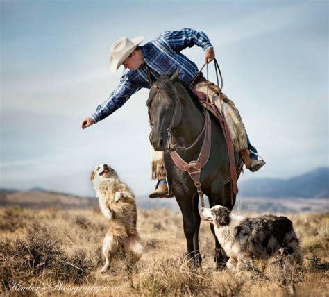 australian cattle cowboys working cow horse cutting western quarter paint horse