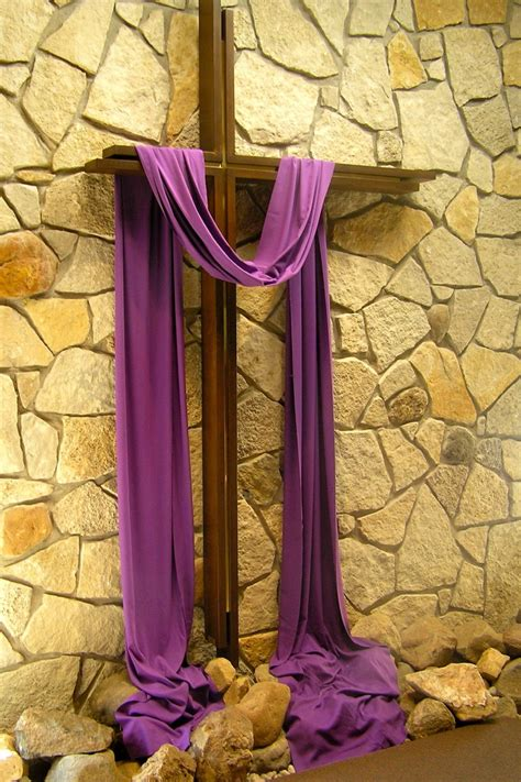 cross with purple drape 81 best images about church worship space christian educ