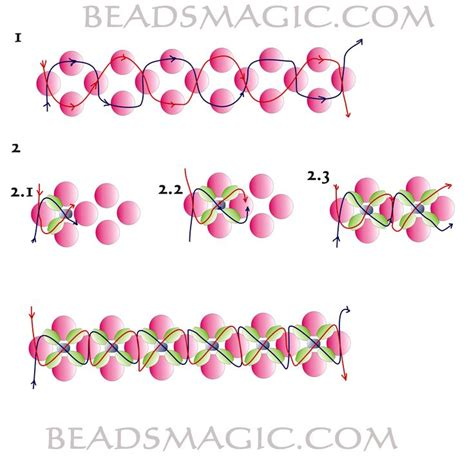need to bead free pattern for beautiful beaded bracelet royal violet