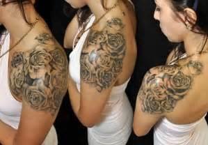 27 beautiful black rose tattoos design