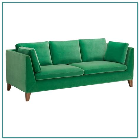 elegant emerald green velvet sofa for sale