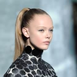slick ponytails ponytail hairstyles red