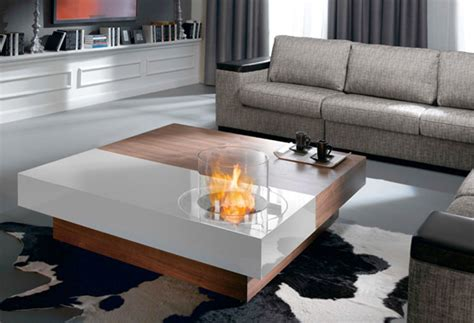 Coffee Table Fireplace Coffee Tables With Built In Fireplace Digsdigs