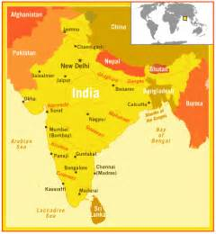 World Map And India by India World Map Images