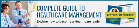 Mba Healthcare Management Career Path by Healthcare Management Career Guide