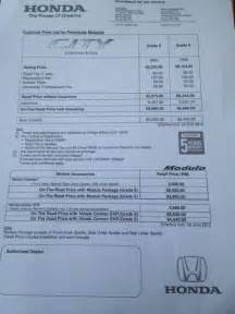Honda Price Malaysia 2012 Honda City Facelift Is Here In Malaysia