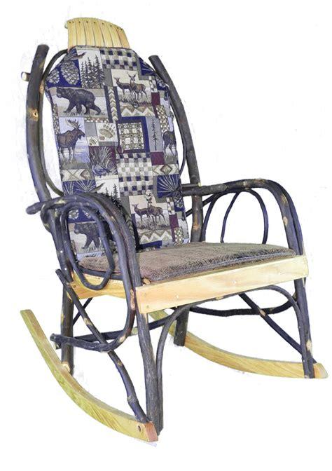 Amish Rocking Chair Cushions amish rocking chair cushion set woodsman fabric