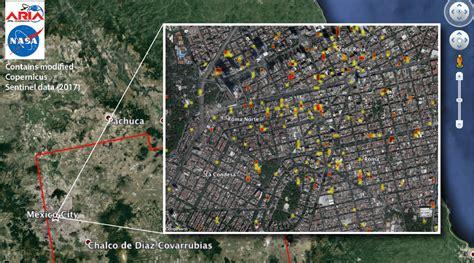 imagenes satelitales ciudad de mexico nasa publica im 225 genes satelitales del sismo en m 233 xico