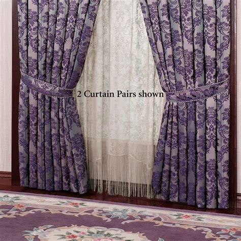 damask drapes renaissance damask curtains