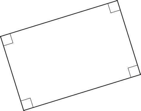 in a rectangle each interior angle measures since