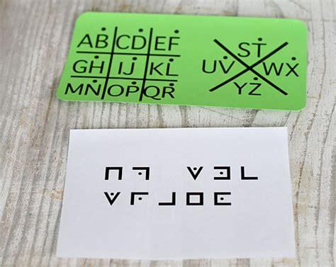secret clue ideas scytale code wrap paper around paper towel roll