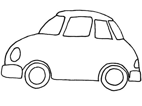 coloring pages of small cars fun learn free worksheets for kid ม ถ นายน 2015