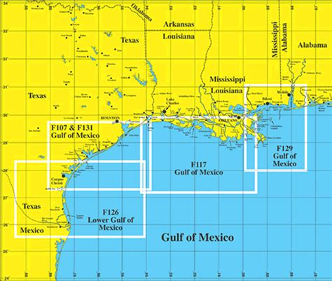 texas gulf coast fishing maps hook n line offshore charts for the gulf coast