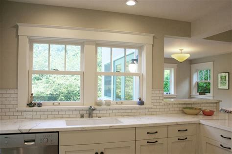 tile around kitchen window photos hgtv