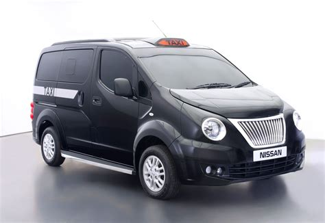nissan nv200 taxi nissan unveils e nv200 london taxi concept that will