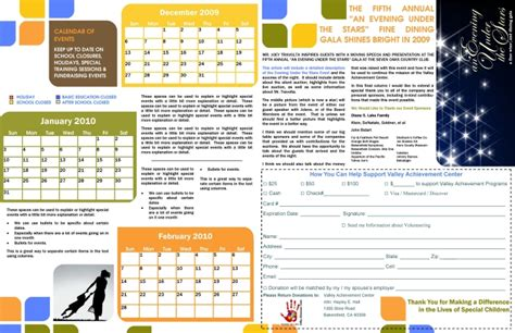 calendar newsletter template newsletter templates by hayley at coroflot