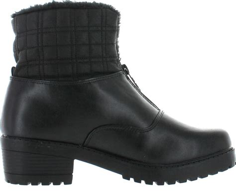 totes waterproof womens boots totes womens zippy3 waterproof winter boots ebay