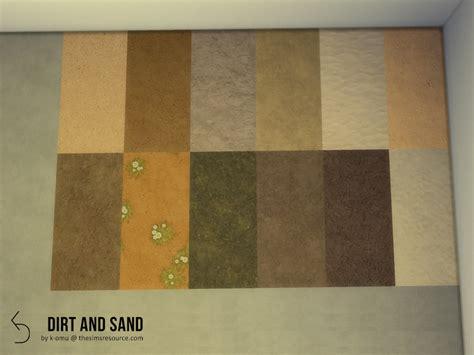 omus dirt sand terrain flooring