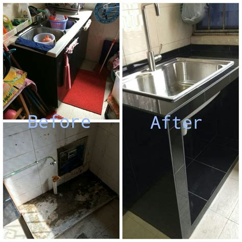 Kitchen Sink Renovation by Kitchen Sink Cooking Tiles Renovationcontractor Sg