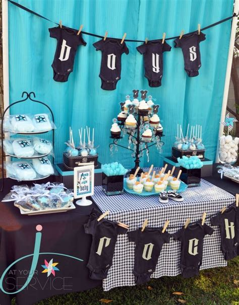 baby boy theme 35 boy baby shower decorations that are worth trying
