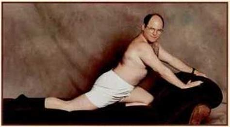 george costanza pose couch shanimal s crackers by george he s awesome